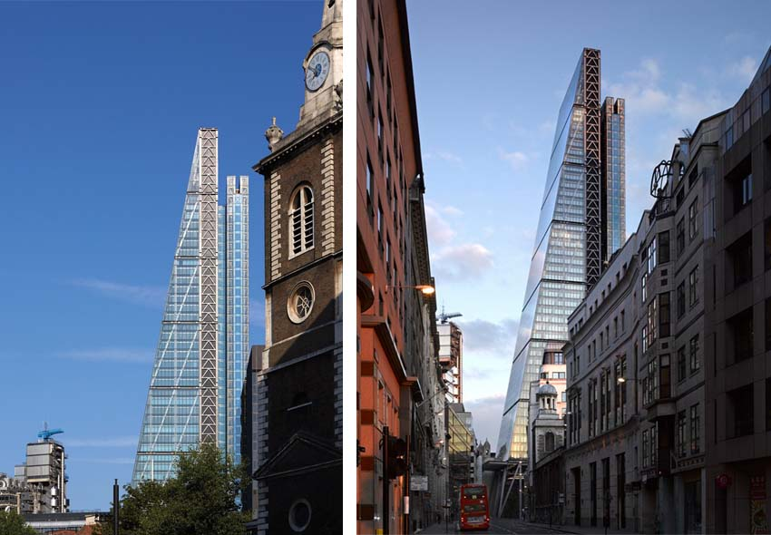 iconos del skyline de Londres: Leadenhall Building
