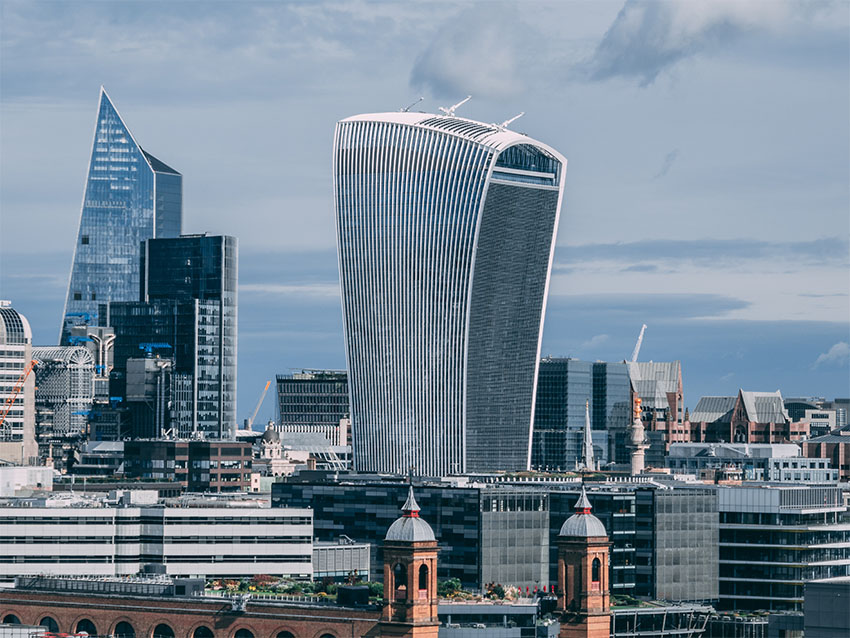 iconos del skyline de Londres: Walkie Talkie